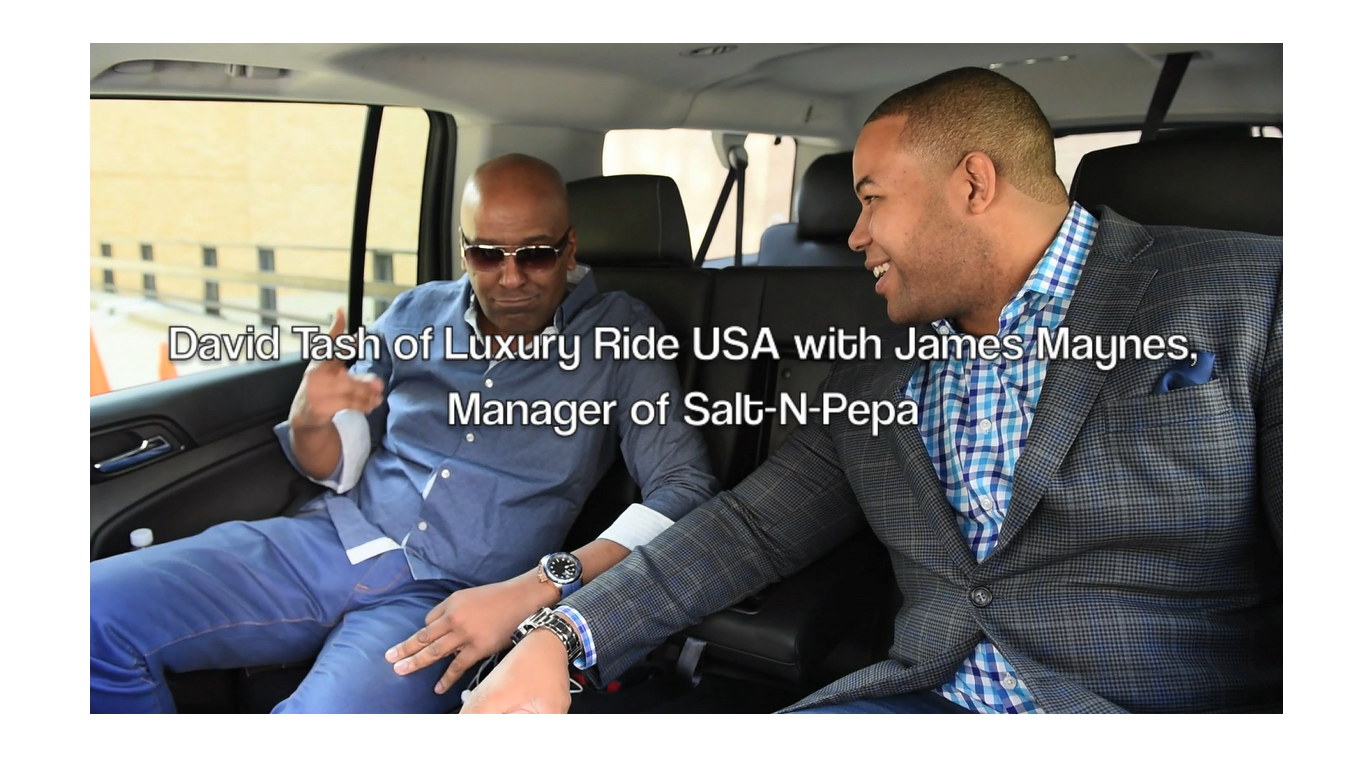 Salt N Pepa James Maynes | Car Service | Brand | Luxury Ride | NYC