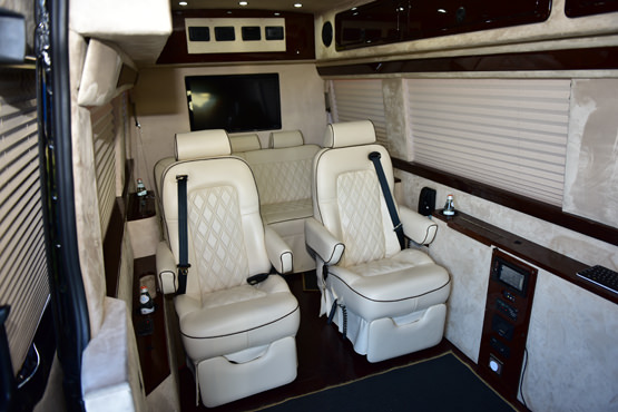 Mercedes Jet Sprinter Luxury Ride Usa